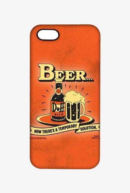 Simpsons Temporary Solution Case for iPhone 5/5s