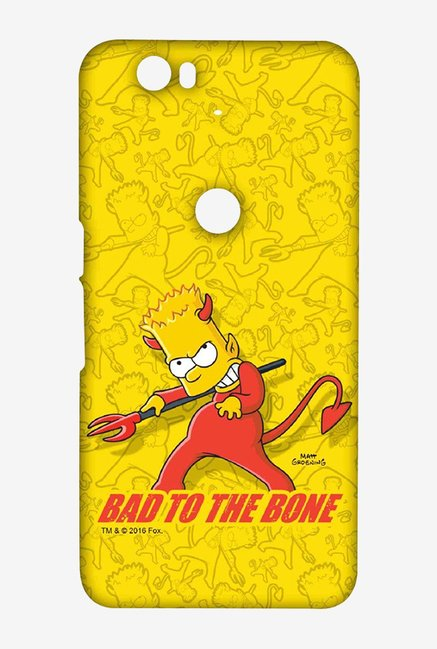 Simpsons Bad To The Bone Case for Huawei Nexus 6P