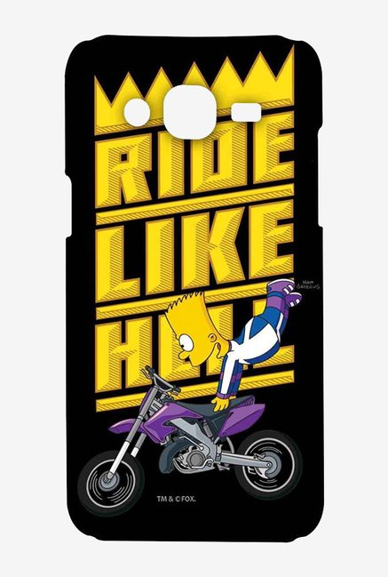 Simpsons Ride Like Hell Case for Samsung On7