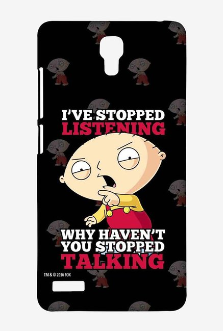 Family Guy Just Stop Talking Case for Xiaomi Redmi Note 4G