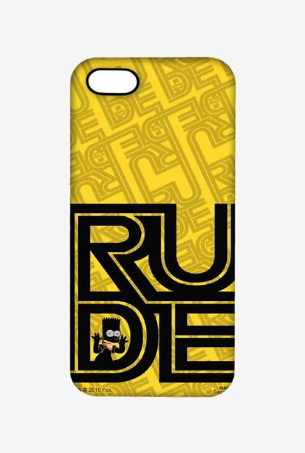 Simpsons Rude Case for iPhone 5/5s