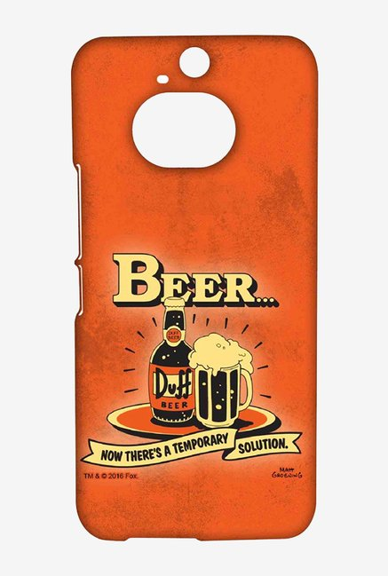 Simpsons Temporary Solution Case for HTC One M9 Plus