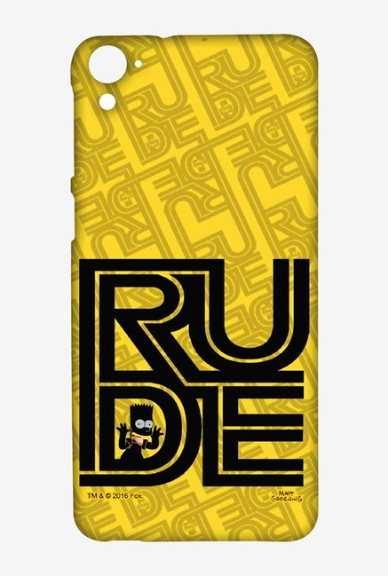 Simpsons Rude Case for HTC Desire 826