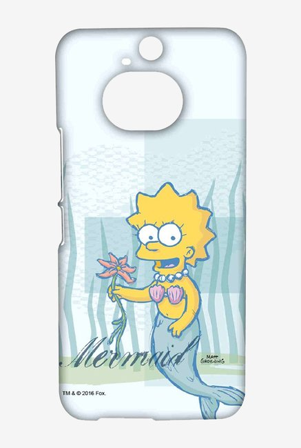 Simpsons Mermaid Case for HTC One M9 Plus