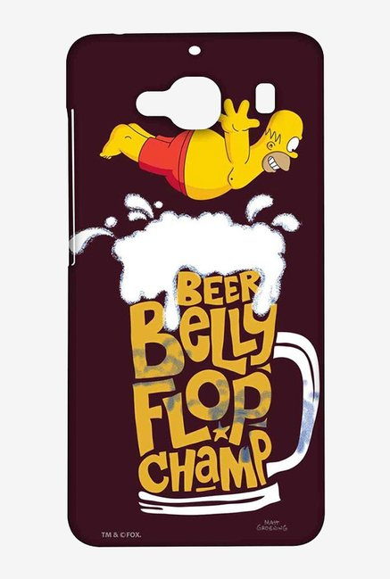 Simpsons Beer Belly Flop Champ Maroon Case for Xiaomi Redmi2