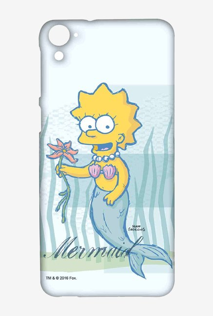 Simpsons Mermaid Case for HTC Desire 826