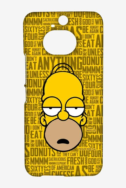 Simpsons Homer Says Case for HTC One M9 Plus