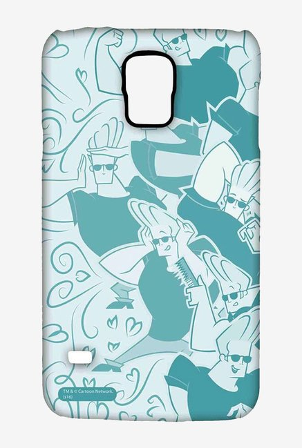 Artistic Johnny Bravo Case for Samsung S5