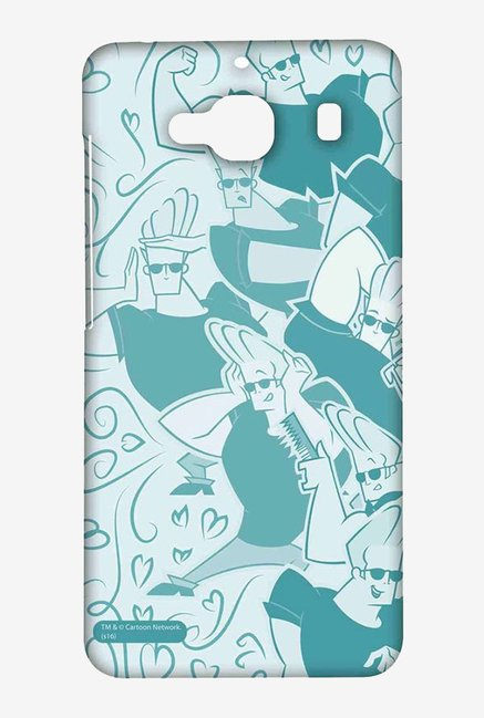Artistic Johnny Bravo Case for Xiaomi Redmi 2 Prime