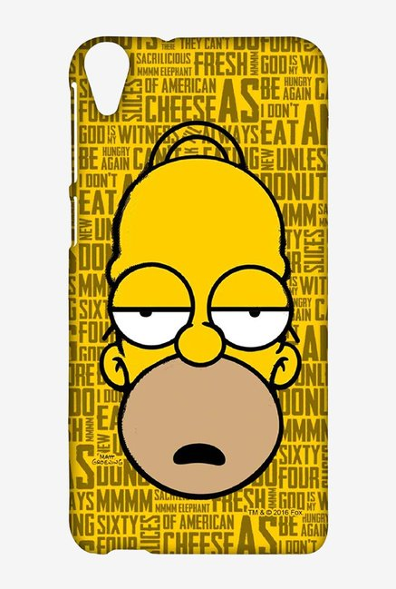 Simpsons Homer Says Case for HTC Desire 820