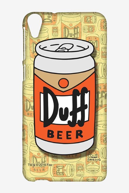Simpsons Duff Beer Case for HTC Desire 820