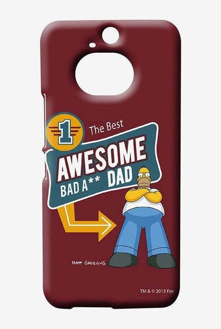 Simpsons Awesome Dad Case for HTC One M9 Plus