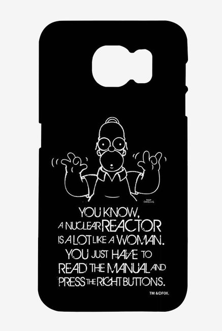 Simpsons Nuclear Reactor Case for Samsung S6 Edge Plus