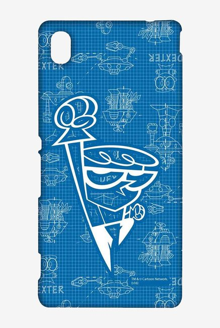 Dexter Blueprint Case for Sony Xperia M4