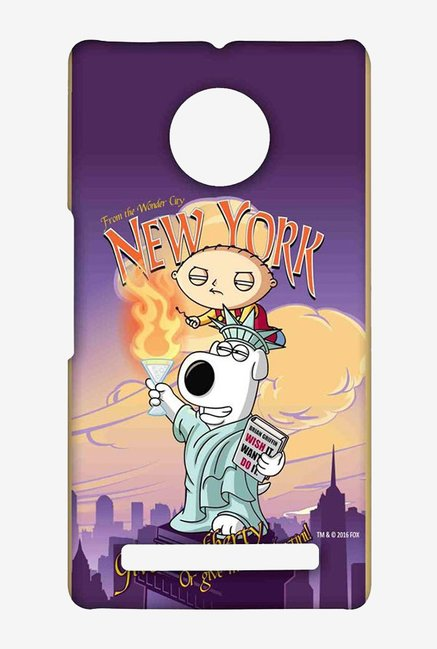 Family Guy Brian Liberty New York Case for Yu Yuphoria