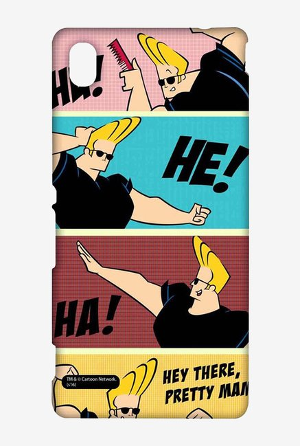 Johnny Bravo Posing Case for Sony Xperia M4