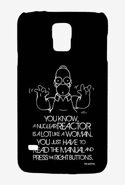 Simpsons Nuclear Reactor Case for Samsung S5