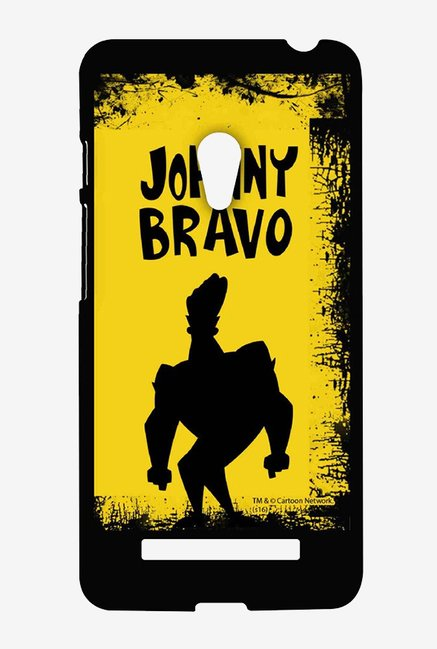 Johnny Bravo Yellow Grunge Case for Asus Zenfone 5