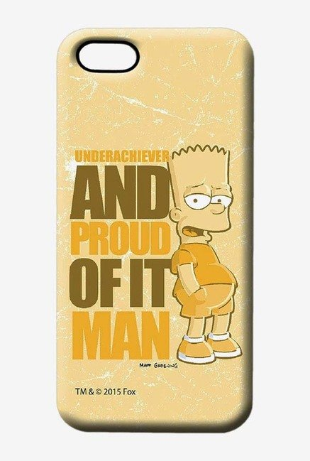 Simpsons Proud Underachiever Case for iPhone 5/5s