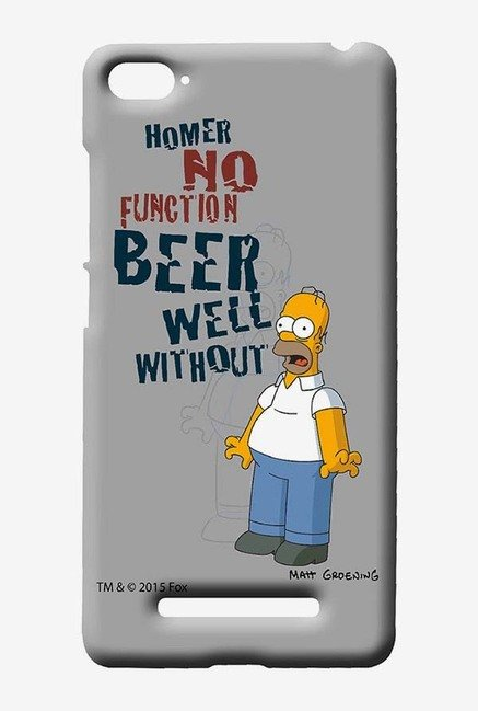 Simpsons Homers Poison Case for Xiaomi Mi4i