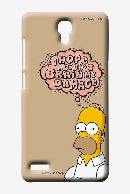 Simpsons Brain Humour Case for Xiaomi Redmi Note 4G