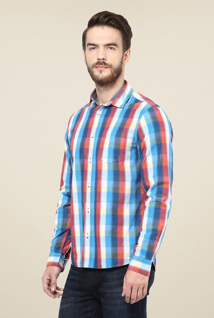 celio* Multicolor Checks Shirt