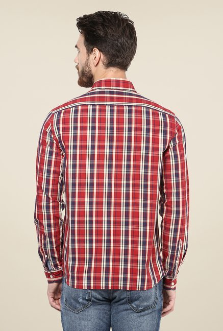 celio* Red Checks Shirt