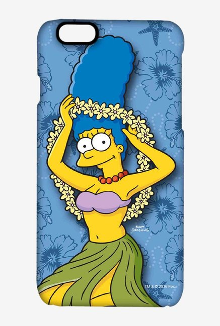 Simpsons Marge Hawaii Case for iPhone 6