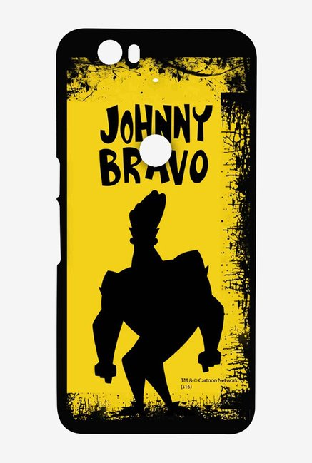 Johnny Bravo Yellow Grunge Case for Huawei Nexus 6P