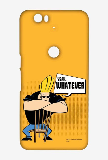 Johnny Bravo Yeah Whatever Case for Huawei Nexus 6P