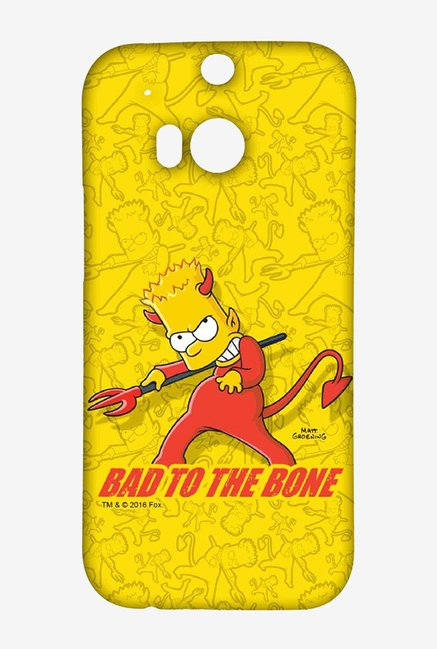 Simpsons Bad To The Bone Case for HTC One M8