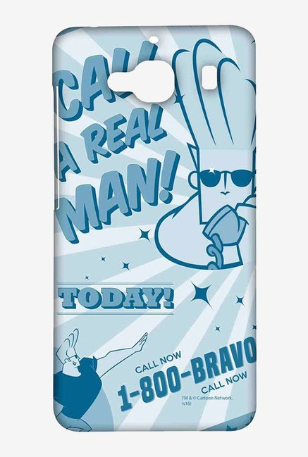 Johnny Bravo The Real Man Case for Xiaomi Redmi 2 Prime