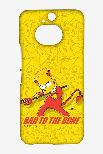 Simpsons Bad To The Bone Case for HTC One M9 Plus