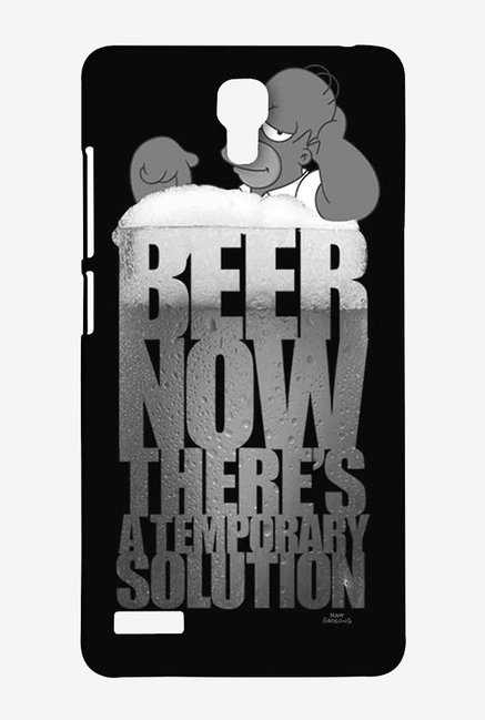 Simpsons The Beer Solution Black Case for Redmi Note Prime