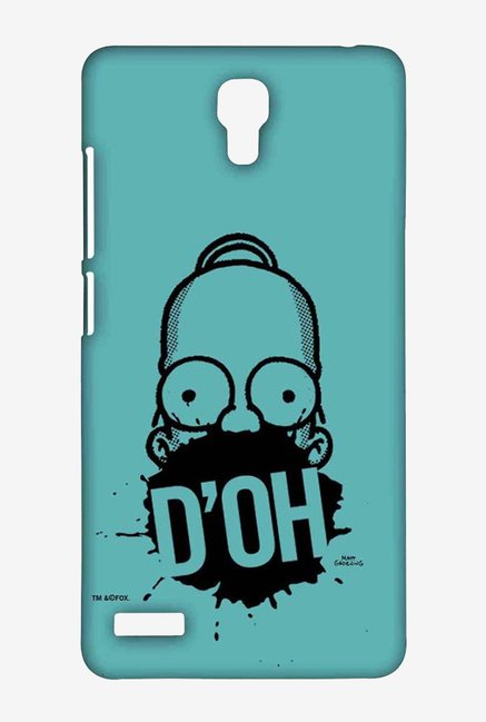 Simpsons D'OH Teal Case for Xiaomi Redmi Note Prime