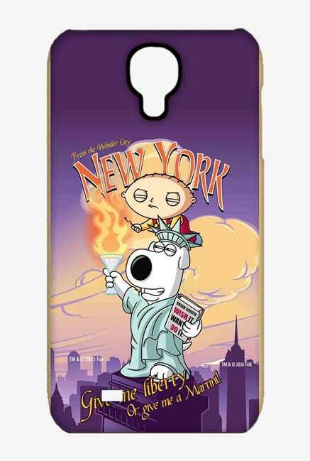 Family Guy Brian Liberty New York Case for Samsung S4