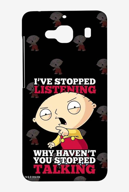 Family Guy Just Stop Talking Case for Xiaomi Redmi 2 Prime