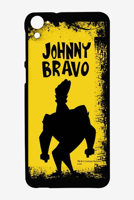 Johnny Bravo Yellow Grunge Case for HTC Desire 826
