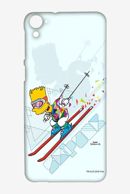 Simpsons Ski Punk Case for HTC Desire 826