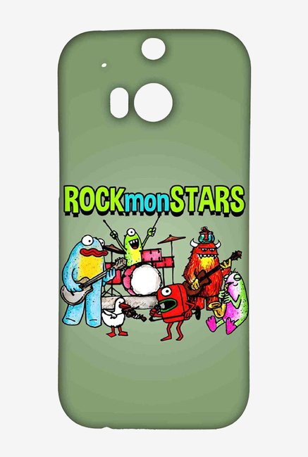 Kritzels Rockmonstars Case for HTC One M8