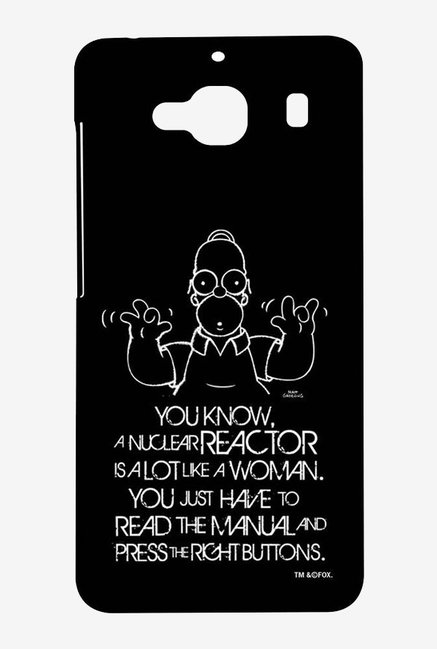 Simpsons Nuclear Reactor Case for Xiaomi Redmi 2 Prime