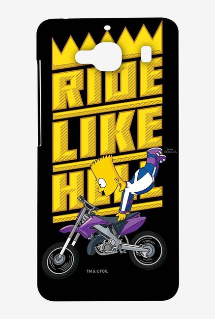 Simpsons Ride Like Hell Case for Xiaomi Redmi 2 Prime
