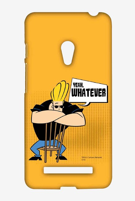 Johnny Bravo Yeah Whatever Case for Asus Zenfone 5