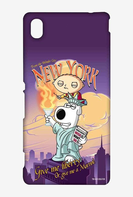 Family Guy Brian Liberty New York Case for Sony Xperia M4