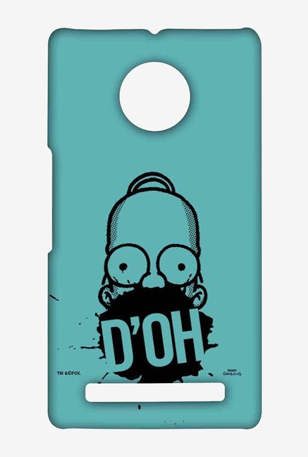 Simpsons D'OH Teal Case for Yu Yuphoria