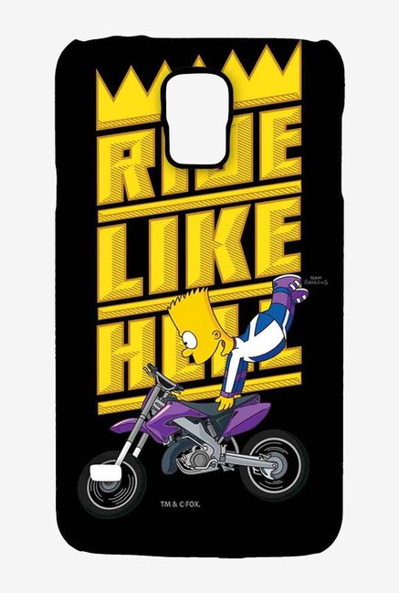 Simpsons Ride Like Hell Case for Samsung S5