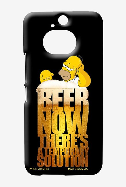 Simpsons The Beer Solution Case for HTC One M9 Plus