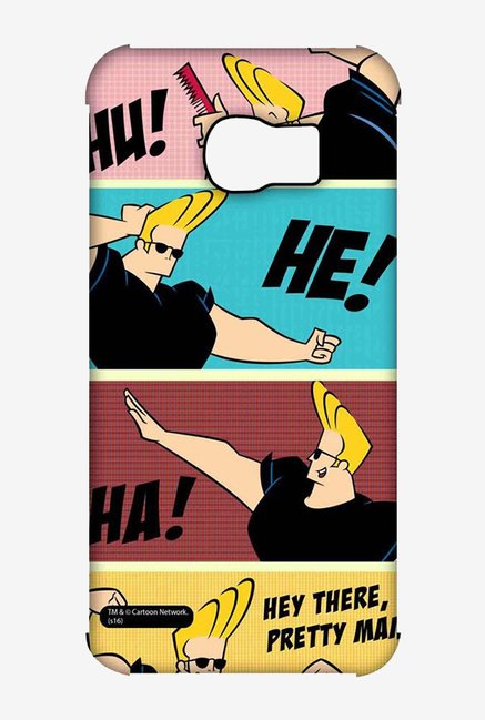 Johnny Bravo Posing Case for Samsung S6 Edge