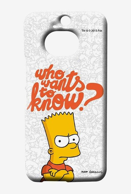 Simpsons Who Wants To Know Case for HTC One M9 Plus