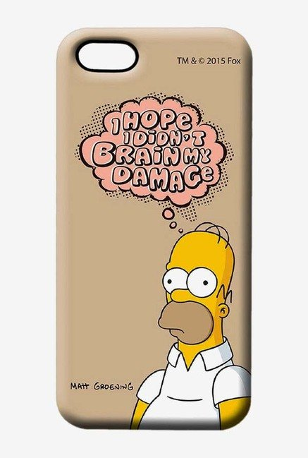 Simpsons Brain Humour Case for iPhone 5/5s